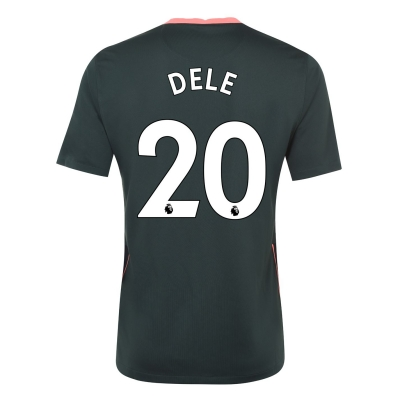 Tricou Deplasare Nike Tottenham Hotspur Dele Alli 2020 2021 verde