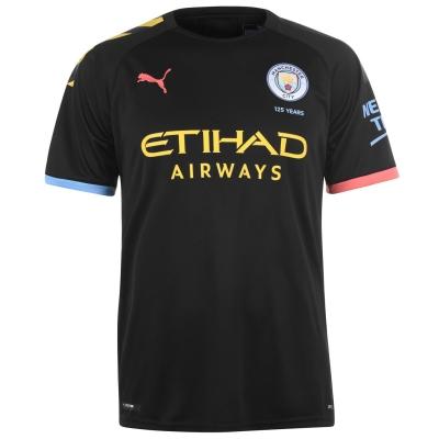 Tricou Deplasare Puma Manchester City 2019 2020 negru peach