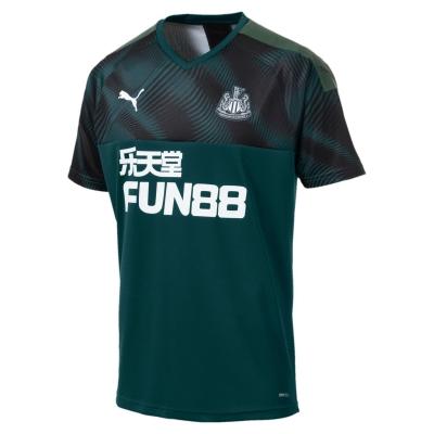 Tricou Deplasare Puma Newcastle United 2019 2020 verde negru