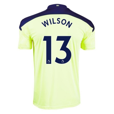 Tricou Deplasare Puma Newcastle United Callum Wilson 2020 2021 pentru copii galben
