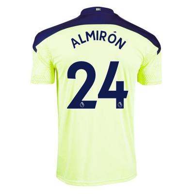 Tricou Deplasare Puma Newcastle United Miguel Almiron 2020 2021 galben