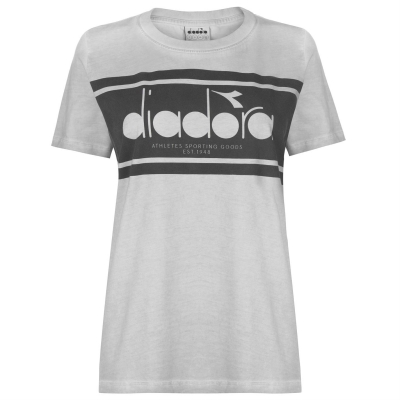 Tricou Diadora Spectra gri alaska