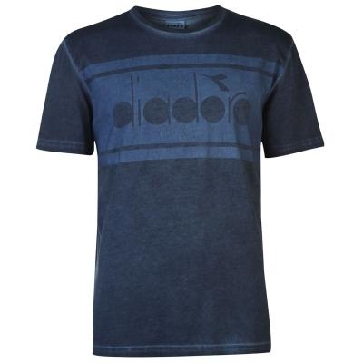 Tricou Diadora Spectra pentru Barbati albastru denim