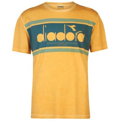Tricou Diadora Spectra pentru Barbati portocaliu galben