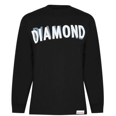 Tricou Diamond Supply Co. Everyone pentru Barbati negru