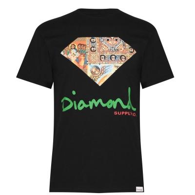 Tricou Diamond Supply Co. negru