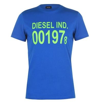 Tricou Diesel 001978 Diego 8ii albastru