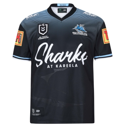 Tricou Dynasty Sport Cronulla-Sutherland Sharks 2020/21 Seniors negru