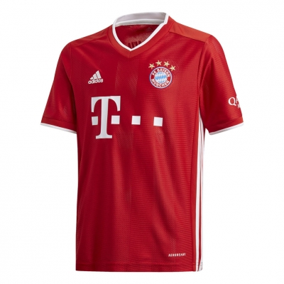 Tricou echipa T-shirts For Adidas FC Bayern Munich rosu FI6201 pentru copii pentru Copii