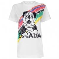 Tricou Escada Sequinned Dog