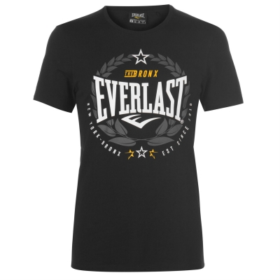 Tricou Everlast Laurel negru