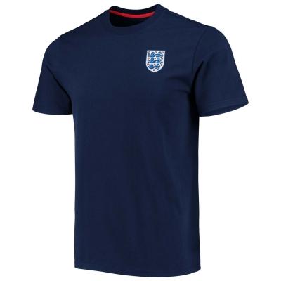 Tricou FA Anglia Crest pentru Barbati bleumarin
