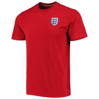 Tricou FA Anglia Crest pentru Barbati rosu
