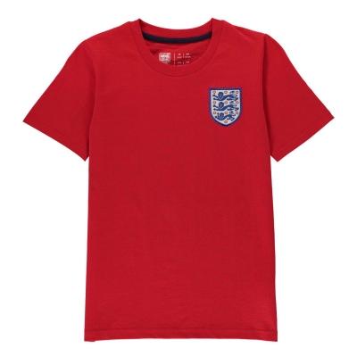 Tricou FA Anglia Small Crest Juniors rosu