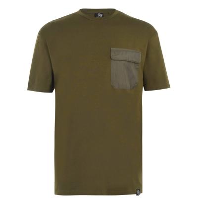 Tricou Fabric cu buzunar pentru Barbati kaki
