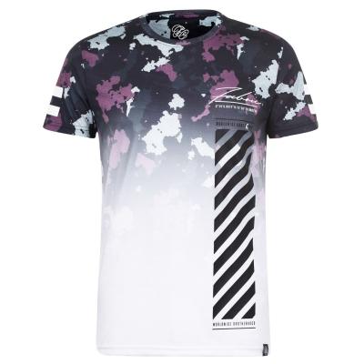 Tricou Fabric Sub pentru Barbati camuflaj alb