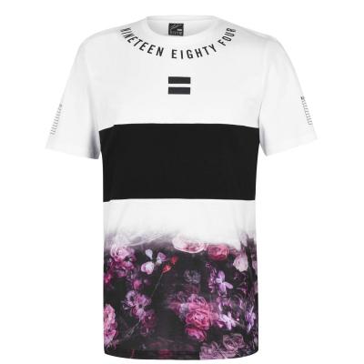 Tricou Fabric Sub pentru Barbati floral fade