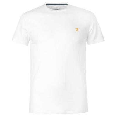 Tricou Farah Sport Robins alb