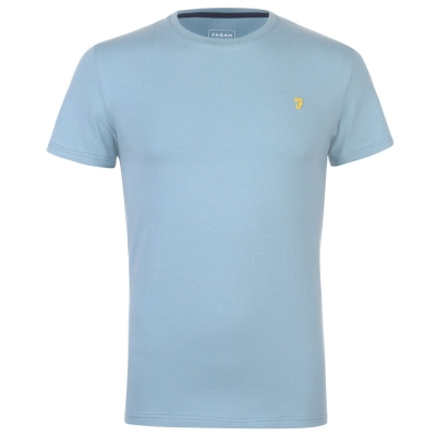 Tricou Farah Sport Robins cool albastru aqua