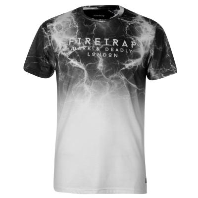 Tricou Firetrap Sub pentru Barbati inchis lightning