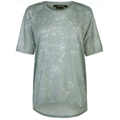 Tricou Firetrap maneci largi pentru Femei albastru