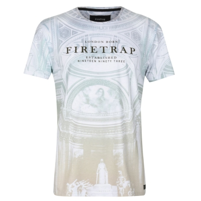 Tricou Firetrap Sub pentru Barbati multicolor