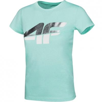 Tricou For 4F menta HJZ20 JTSD006A 47S pentru fete