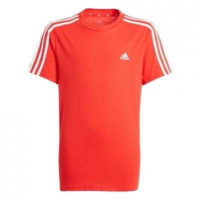Tricou For Adidas Essentials 3-S rosu GN3997 pentru Copii