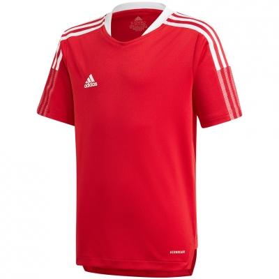 Tricou For Adidas Tiro 21 antrenament Jers rosu GM7576 pentru Copii