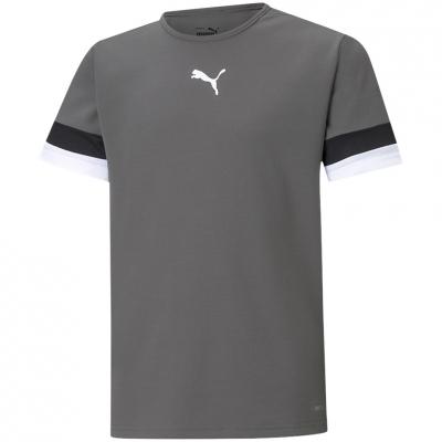 Tricou For Puma TeamRISE Jersey gri 704938 13 pentru Copii copii