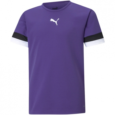 Tricou For Puma TeamRISE Jersey mov 704938 10 pentru Copii copii