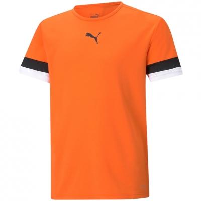 Tricou For Puma TeamRISE Jersey portocaliu 704938 08 pentru Copii copii