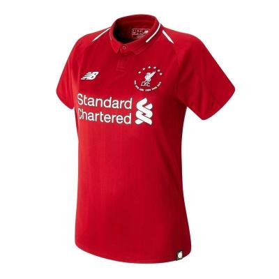 Tricou fotbal New Balance Liverpool 6 Times pentru Femei rosu