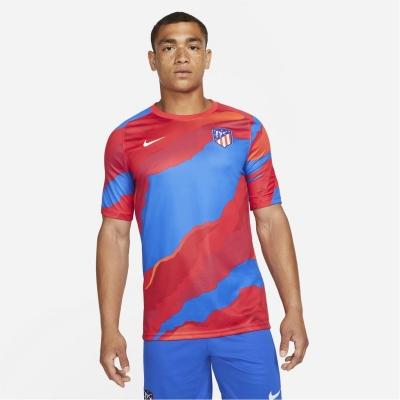 Tricou fotbal Nike Atletico Madrid European 2021 2022 global rosu