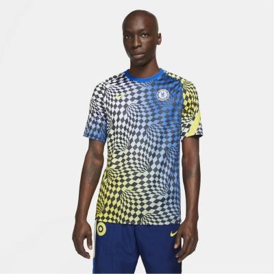Tricou fotbal Nike Chelsea 2021 2022 pentru Barbati albastru