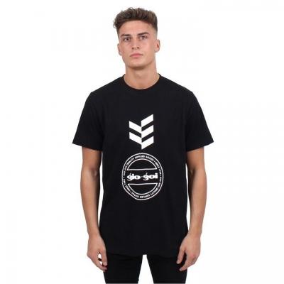 Tricou Gio Goi imprimeu Graphic negru