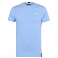 Tricou Gio Goi Goi cu buzunar pentru Barbati albastru