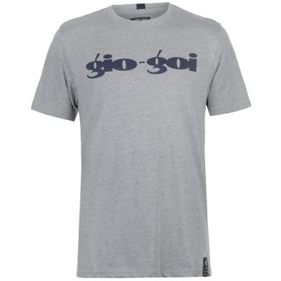 Tricou Gio Goi Print gri
