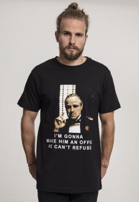 Tricou Godfather Refuse negru Merchcode