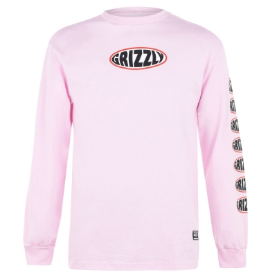 Tricou Grizzly Grizzly cu Maneca Lunga pentru Barbati multicolor