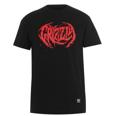 Tricou Grizzly Metal negru