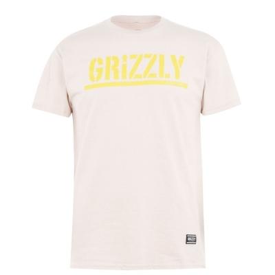 Tricou Grizzly Stamp bej