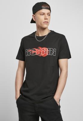 Tricou Hoopin negru Mister Tee