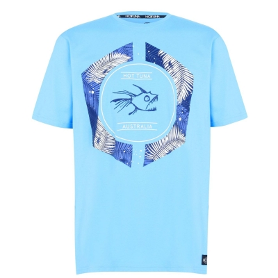 Tricou Hot Tuna Crew pentru Barbati albastru logo