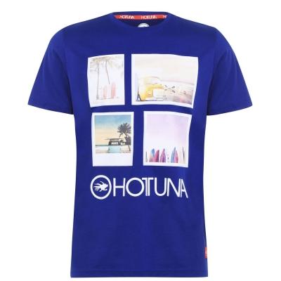 Tricou Hot Tuna Photo pentru Barbati albastru
