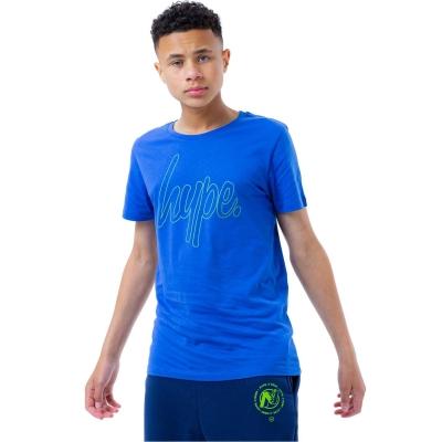 Tricou Hype Hype x Nerf Logo pentru Copii albastru