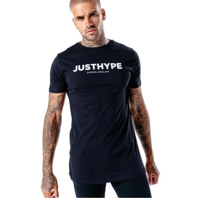 Tricou Hype Just pentru Barbati negru