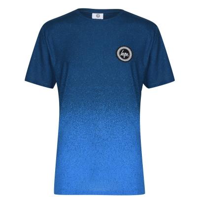 Tricou Hype Print bleumarin