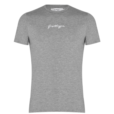 Tricou Hype Scribble Logo pentru femei gri