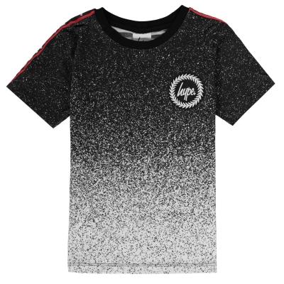 Tricou Hype Sparkle Tape negru alb
